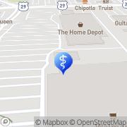 Map DentalWorks Spartanburg Spartanburg, United States