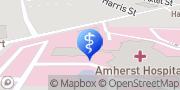 Map UH Amherst Health Center Radiology Services Amherst, United States