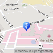 Map Lifecare Ambulance Amherst, United States