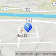 Map Aspen Dental Barboursville, United States