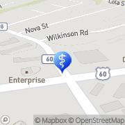 Map Sammons Frederick H Jr DDS Huntington, United States
