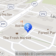 Map Continuum Chiropractic Greenville, United States
