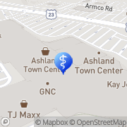 Map Joel Cost Ashland, United States