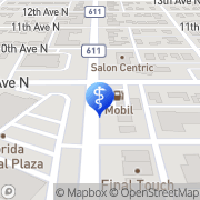 Map Feld Fred S DMD St. Petersburg, United States