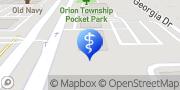 Map Aspen Dental Lake Orion, United States