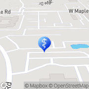 Map Dr. Michael Gray and Skindeep Spa West Bloomfield Township, United States