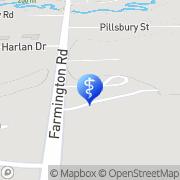 Map Visiting Angels Farmington Hills, United States