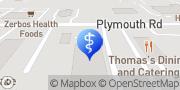 Map Concentra Urgent Care Livonia, United States