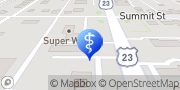 Map Blanchard Valley Obstetrics & Gynecology Fostoria, United States