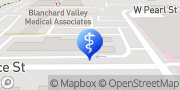Map Blanchard Valley Diabetes Center Findlay, United States