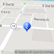 Map Jean Cooper Maysville, United States