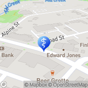 Map Fifth Street Dental Care Dexter, United States