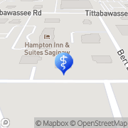 Map Fashion Square Dental Saginaw, United States