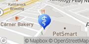 Map Express MRI Peachtree Corners, United States