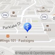 Map A Atlanta Emergency Dental Tucker, United States
