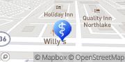 Map Aspen Dental Tucker, United States