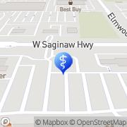 Map Pritoj Gill Lansing, United States