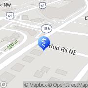 Map Calhoun Counseling Center Calhoun, United States