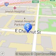 Map Norton Children's Hospital Louisville, United States