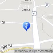 Map Anne Porcher Burnett -Southern Tennessee Neurology Monteagle, United States