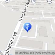 Map AESTHETIC + WELLNESS Murfreesboro, United States