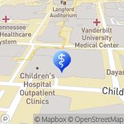 Map Vanderbilt Children's Cleft and Craniofacial Program Nashville, United States