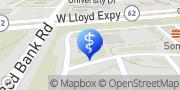Map Aspen Dental Evansville, United States
