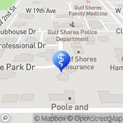 Map Encore Rehabilitation Gulf Shores, United States