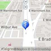 Map Michael James Kitzke Milwaukee, United States