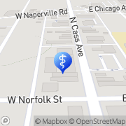 Map Cass Family Dental Westmont, United States