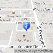 Map Becky Monson Skin Care Champaign, United States