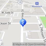 Map Lodestone Center for Behavioral Health Woodstock, United States