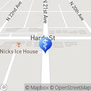 Map Fletcher Victor A DMD Hattiesburg, United States