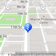 Map Ganshert Dental Clinic, S.C. Monroe, United States