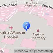Map Aspirus Pulmonary & Critical Care Wausau, United States