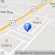 Map Carlos Alexander Millington, United States