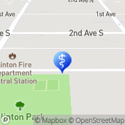 Map CHIROPRACTIC SOLUTIONS Clinton, United States