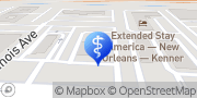 Map Aspen Dental Kenner, United States