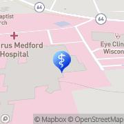 Map Aspirus Birthing Center Medford, United States
