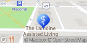 Map The Lamoine Assisted Living & Memory Care Macomb, United States