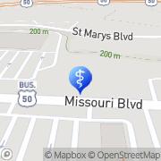 Map Brett Parrott Jefferson City, United States