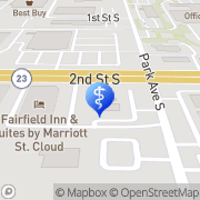 Map Minser Chiropractic Clinic Saint Cloud, United States
