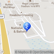 Map August Wallace Eyecare Associates Longview, United States