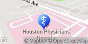 Map Houston Physicians' Hospital Webster, United States