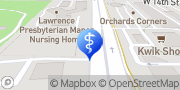 Map Lawrence Presbyterian Manor Lawrence, United States