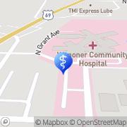 Map Wagoner Community Hospital Wagoner, United States