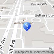 Map Victory Smiles Dentist - Hilcroft Houston, United States