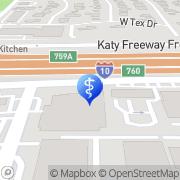 Map Michael A. Allon MD Houston, United States