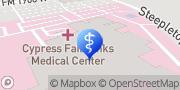 Map HCA Houston Healthcare Cypress Fairbanks Houston, United States