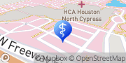 Map HCA Houston Healthcare North Cypress Cypress, United States